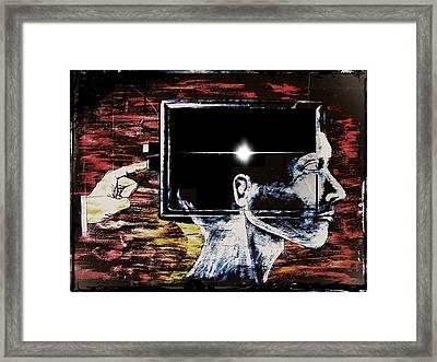 Restart Framed Print by Paulo Zerbato