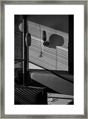 Restaurant Late Afternoon 2 Framed Print by Robert Ullmann