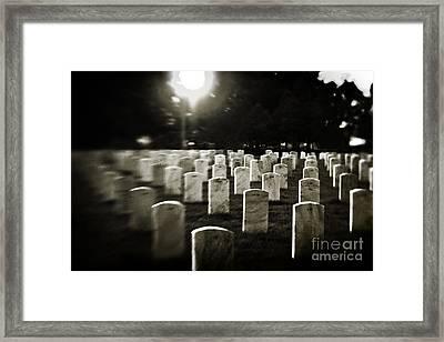 Resting Place Framed Print by Scott Pellegrin