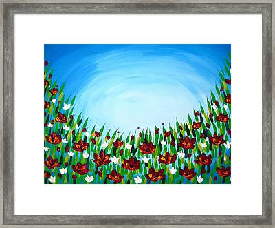 Resting Space Framed Print by Cathy Jacobs