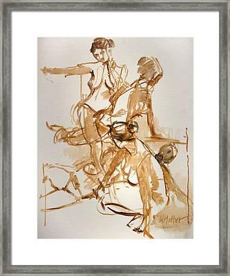 Restless Framed Print by Bill Mather