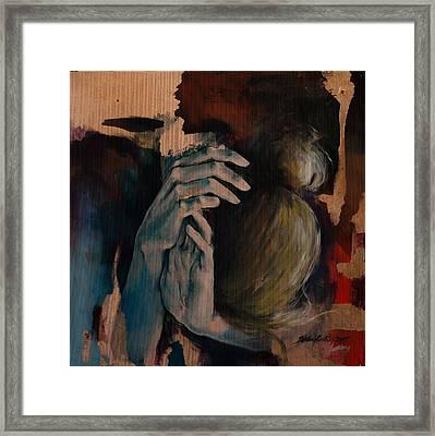Restlessness Framed Print by Dorina  Costras