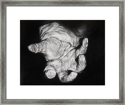 Restrained Framed Print by Ann Supan