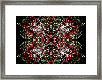 Retinal Doubt Framed Print by John Cardamone