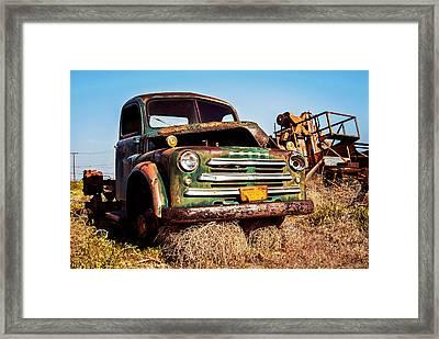 Retired Framed Print by Aron Kearney
