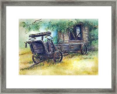 Retired At Last Framed Print by Retta Stephenson