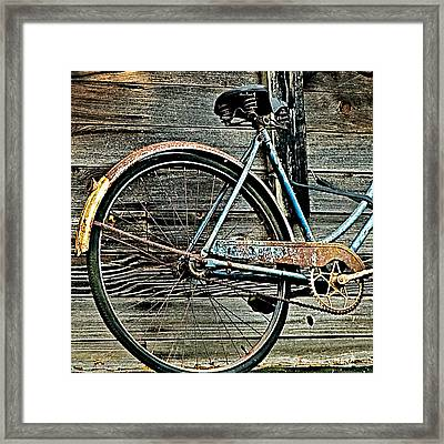 Retired Ride Framed Print by Marion McCristall