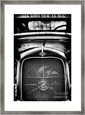Retro Rat Rod Framed Print by Tim Gainey