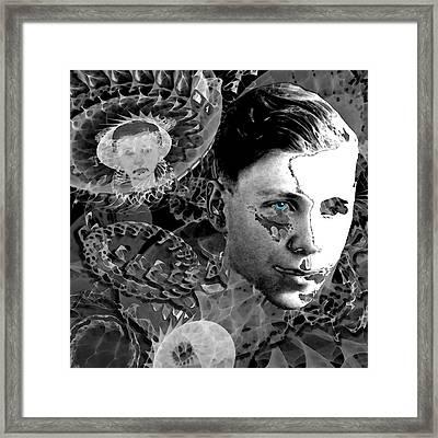 Retrograde Framed Print by Carmen Hathaway