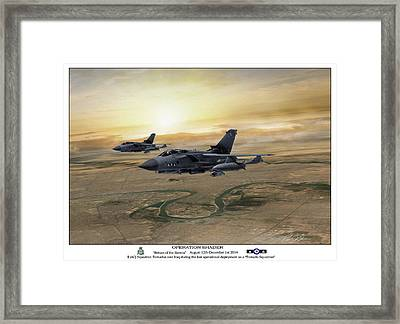 Return Of The Ravens Framed Print by Peter Chilelli