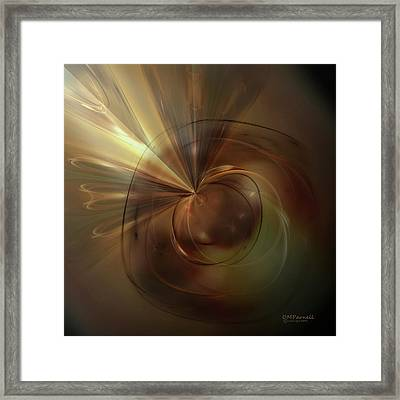 Return To The Light Framed Print by Diane Parnell