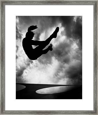 Returning To Earth Framed Print by Bob Orsillo