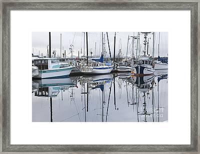 Returning To Port Framed Print by Tim Grams