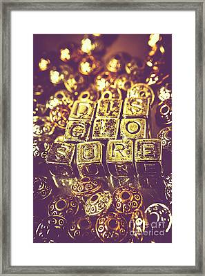 Revealing Mysterious Of Space Framed Print by Jorgo Photography - Wall Art Gallery