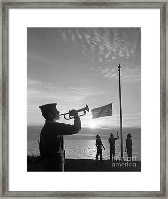 Reveille Or Taps, C.1960s Framed Print by D. Corson/ClassicStock