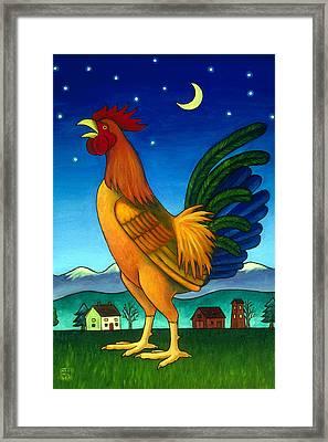 Reveille Framed Print by Stacey Neumiller