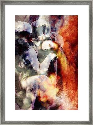 Revelation Abstract Realism  Framed Print by Georgiana Romanovna