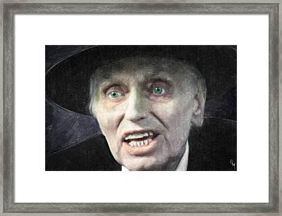 Reverend Henry Kane Framed Print by Taylan Soyturk