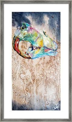 Revolution Beaver Framed Print by Christy  Freeman