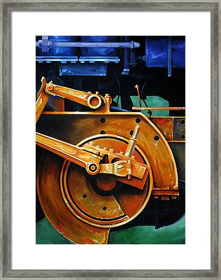 Revolutions Framed Print by Chris Steinken
