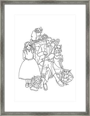 Reynold Jay, Duy Truong, And A World Of Imagination Framed Print by Reynold Jay