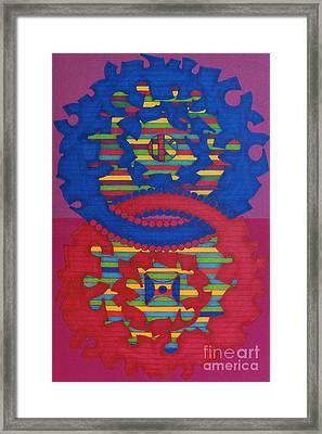 Rfb0418 Framed Print by Robert F Battles