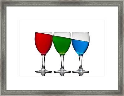 RGB Framed Print by Gert Lavsen