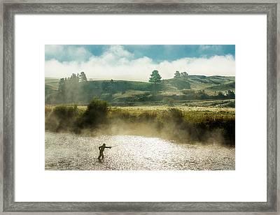 Rhythm And Grace Framed Print by Todd Klassy