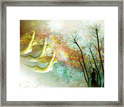 Rhythm Of The Wind Framed Print by Van Renselar