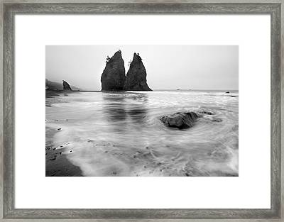 Rialto Reflections Framed Print by Mike  Dawson