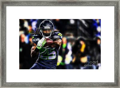 Richard Sherman Collection Framed Print by Marvin Blaine