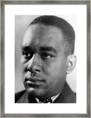 Richard Wright 1908-1960, American Framed Print by Everett