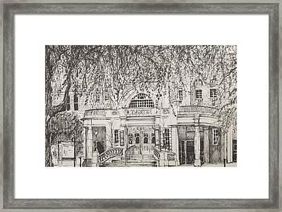 Richmond Theatre London Framed Print by Vincent Alexander Booth