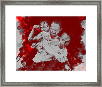 Rick Grimes Framed Print by David Kraig