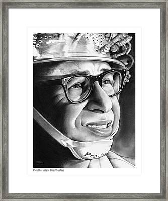 Rick Moranis Framed Print by Greg Joens