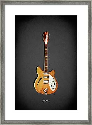 Rickenbacker 360 12 1964 Framed Print by Mark Rogan