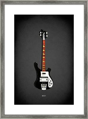 Rickenbacker 4001 1979 Framed Print by Mark Rogan