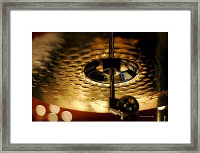 Ride Cymbal Framed Print by Constance Sanders