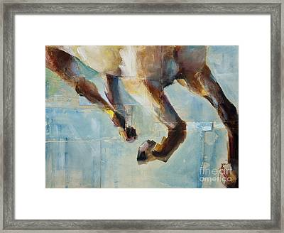 Ride Like You Stole It Framed Print by Frances Marino