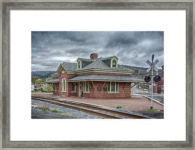 Ridgway Station Framed Print by Guy Whiteley