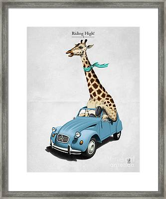 Riding High Framed Print by Rob Snow
