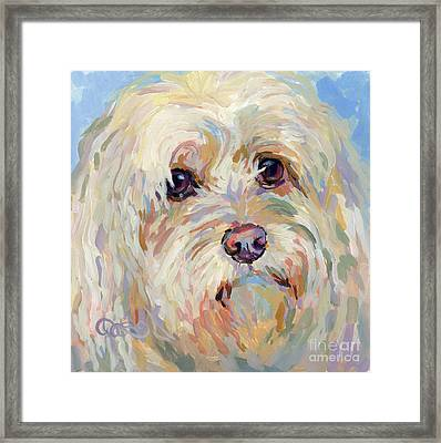 Right Here Framed Print by Kimberly Santini