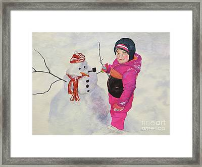 Riley Framed Print by Karol Wyckoff