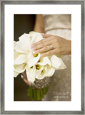 Ring And Bouquet Framed Print by Sri Maiava Rusden - Printscapes