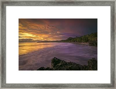 Rip Tide Framed Print by Jeremy Jensen