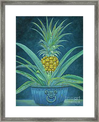 Ripe Pineapple Framed Print by Danielle Perry