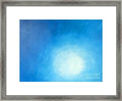Ripples Framed Print by Cindy Lee Longhini
