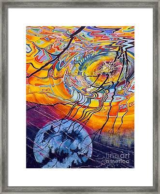Ripples Framed Print by David Neace