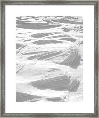 Ripples Framed Print by Michael Peychich