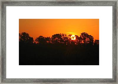 Rise And Shine Framed Print by Brittany H